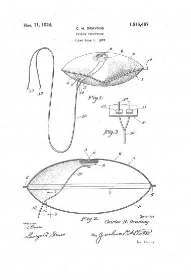 Pillow Culture Curates: U.S. Pillow Patents 1897 – 2010